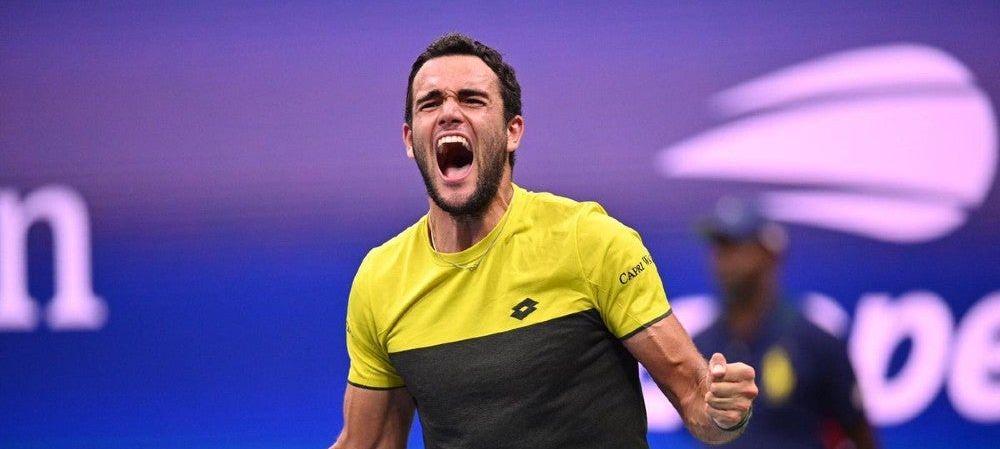 Tennis, Berrettini nella storia
